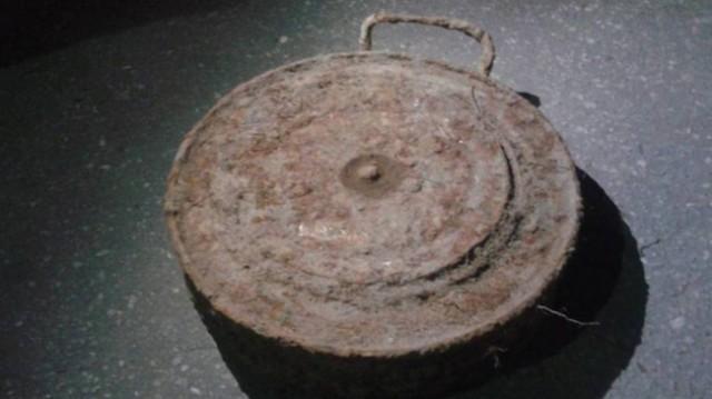 Влесном массиве Владимирской области найдена противотанковая бомба
